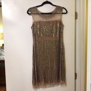 Adrianna Papell formal beaded dress